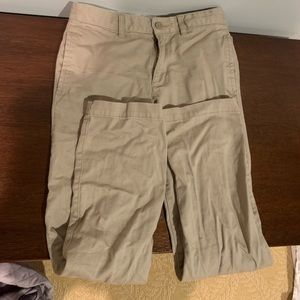 Boys khaki pants, size 12.